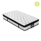 Giselle Bedding Euro Top Mattress - Single - OZZIEBARGAINS