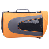 Pet Dog Cat Carrier Travel Bag XLarge Orange - OZZIEBARGAINS