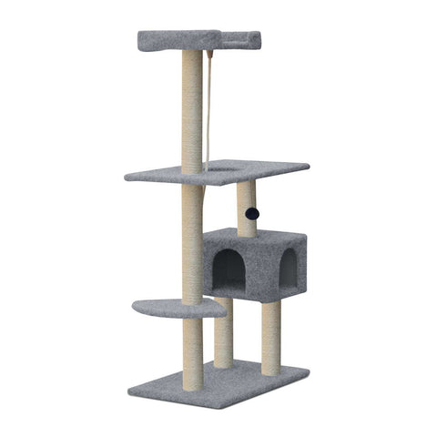 145cm Tall Cat Tree - OZZIEBARGAINS