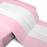 50 Pet Toilet Training Pads Pink - OZZIEBARGAINS