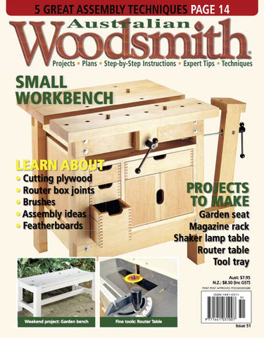 Issue 51 australian woodsmith issue 51 keyboard keysfo Choice Image