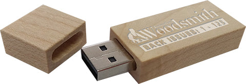 Australian Woodsmith Library - 150 Issues on USB