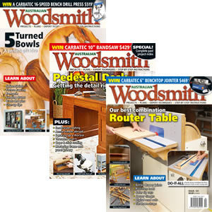 Australian Woodsmith OVERSEAS Subscription