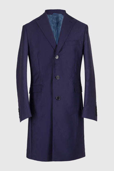 Beelze Blue Overcoat