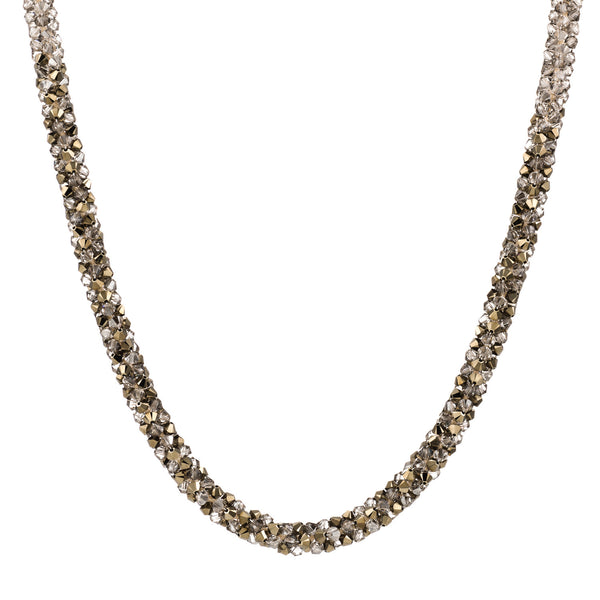 TROPICANA/ ROPE Necklace, Crystal