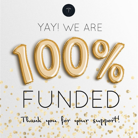 Successfully funded in Kickstarter