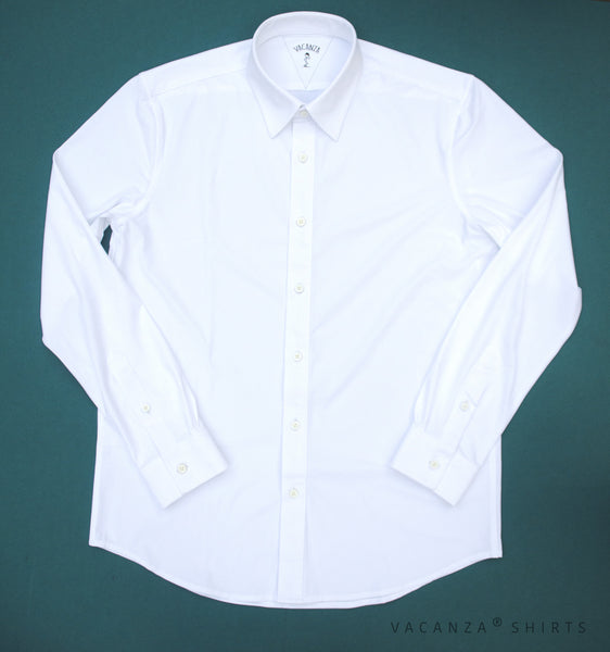 Men's Pointed Collar Functional Dress Shirt