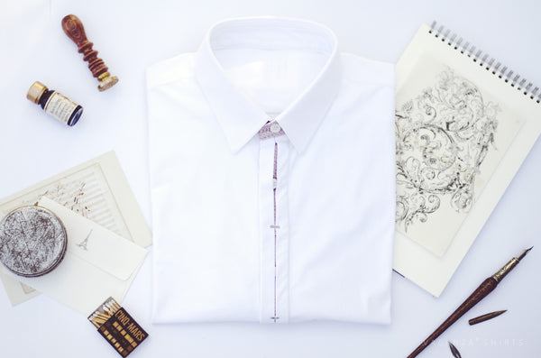 Men's Smart Casual Functional Dress Shirt