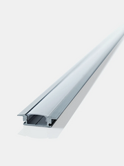 LED Strip Lighting Per Metre Including Flanged Extrusion