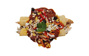 Braised Chicken & Spinach Enchilada