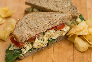 Grilled Chicken Salad on Whole Wheat
