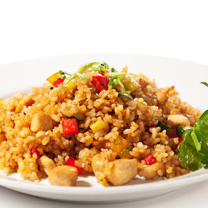 "Chicken ""Fried"" Rice"