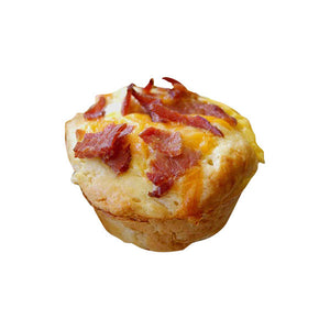Egg-cellent Muffins With Turkey Bacon & Cheese