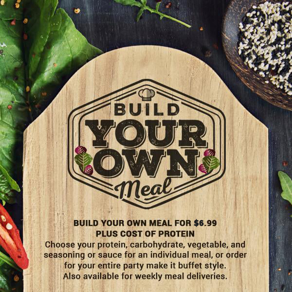 Build Your Own Meal (Cafe)
