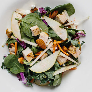 Grilled Chicken & Pear Salad