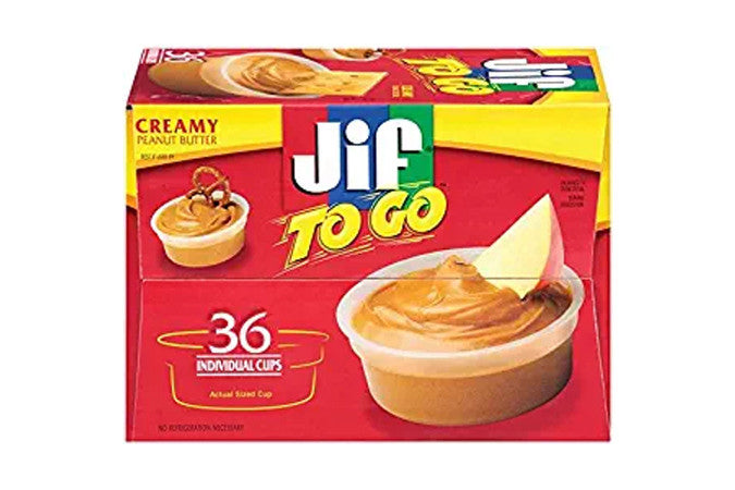 Jif To Go Cups - Qty: 36