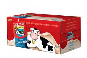 Horizon Organic Milk Pack - Qty: 18