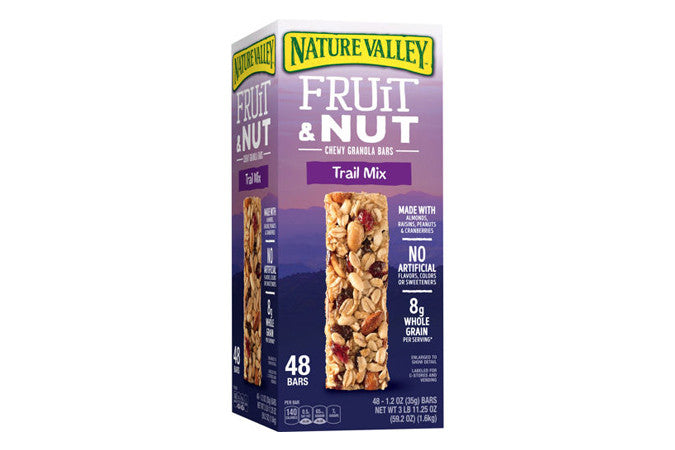 Nature Valley - Fruit & Nut Bars Pack - Qty: 48