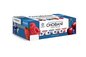 Chobani Yogurt Variety Pack - Qty: 16
