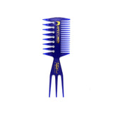 "Apestomen Professional ""Trifecta"" Comb (Blue)"