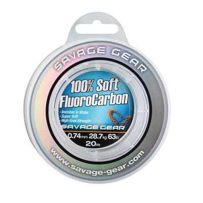 Savage Gear Soft Fluorocarbon 0.26mm