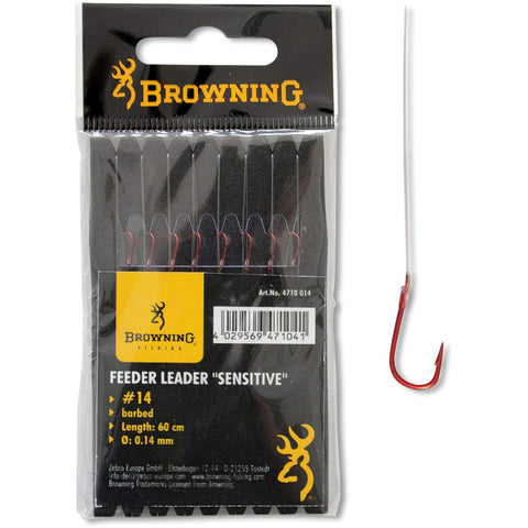 Browning Feeder Hook to Nylon Red