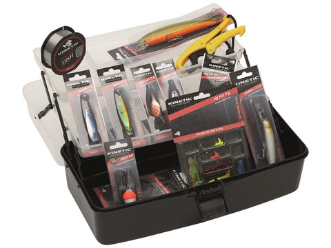 Kinetic Tackle Box Big Kit - Freshwater