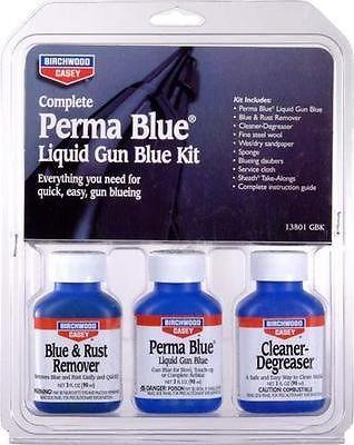 Birchwood Perma Blue Liquid Gun Blue Kit
