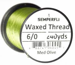 Semperfli 8/0 Waxed Thread