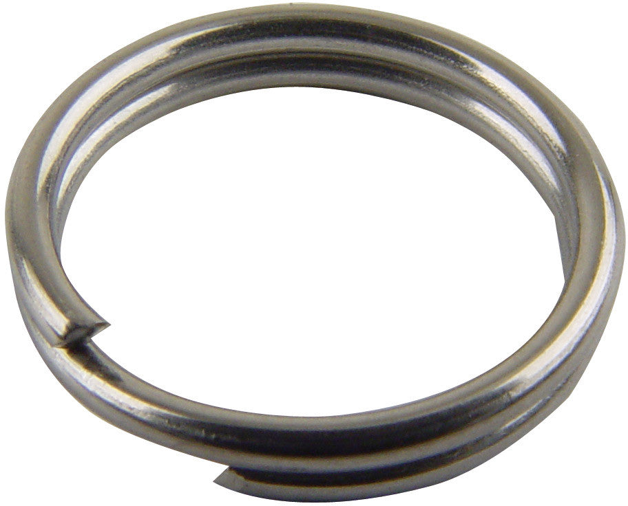 Mustad Stainless Split Rings