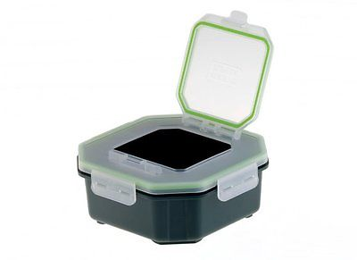 Greys Klip-Lok Flip Top Bait Box 1.4pint Perforated Lid