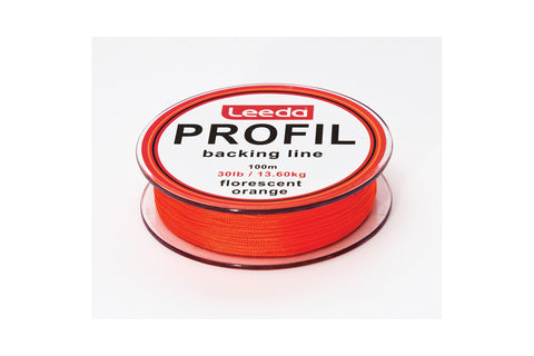Leeda Profil Backing Line 20lb Orange