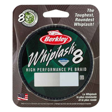 Berkley Whiplash 8 Core PE Braid 150meter Spool