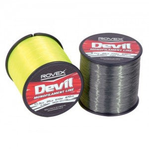 Rovex Devil Line Bulk Spool Clear