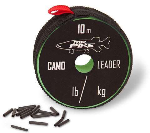 Quantum Mr Pike Camo Coated AFW Leader Material