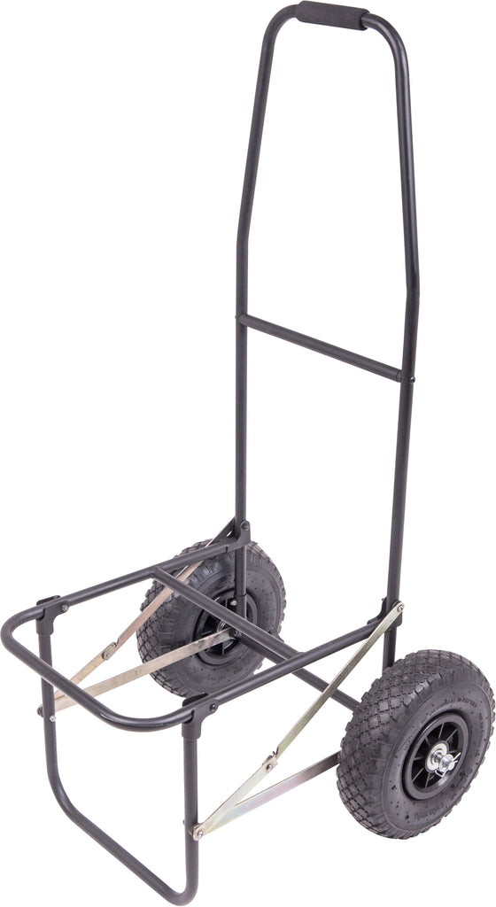 Leeda Fold Up Trolley w/ Pneumatic Wheels