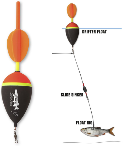 Quantum Mr Pike Drifter Floats
