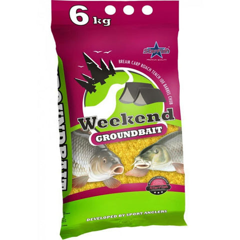 Starfish Weekend Groundbait 6kg Bag