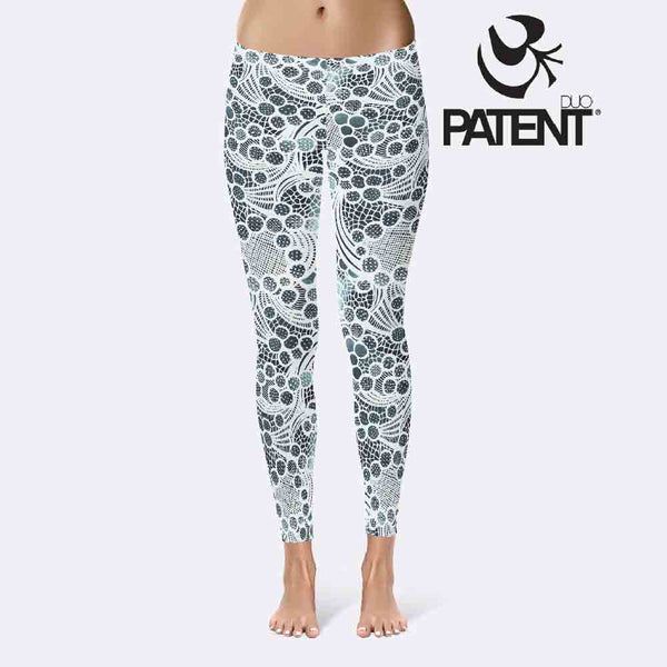 Patentduo Csipke jóga leggings