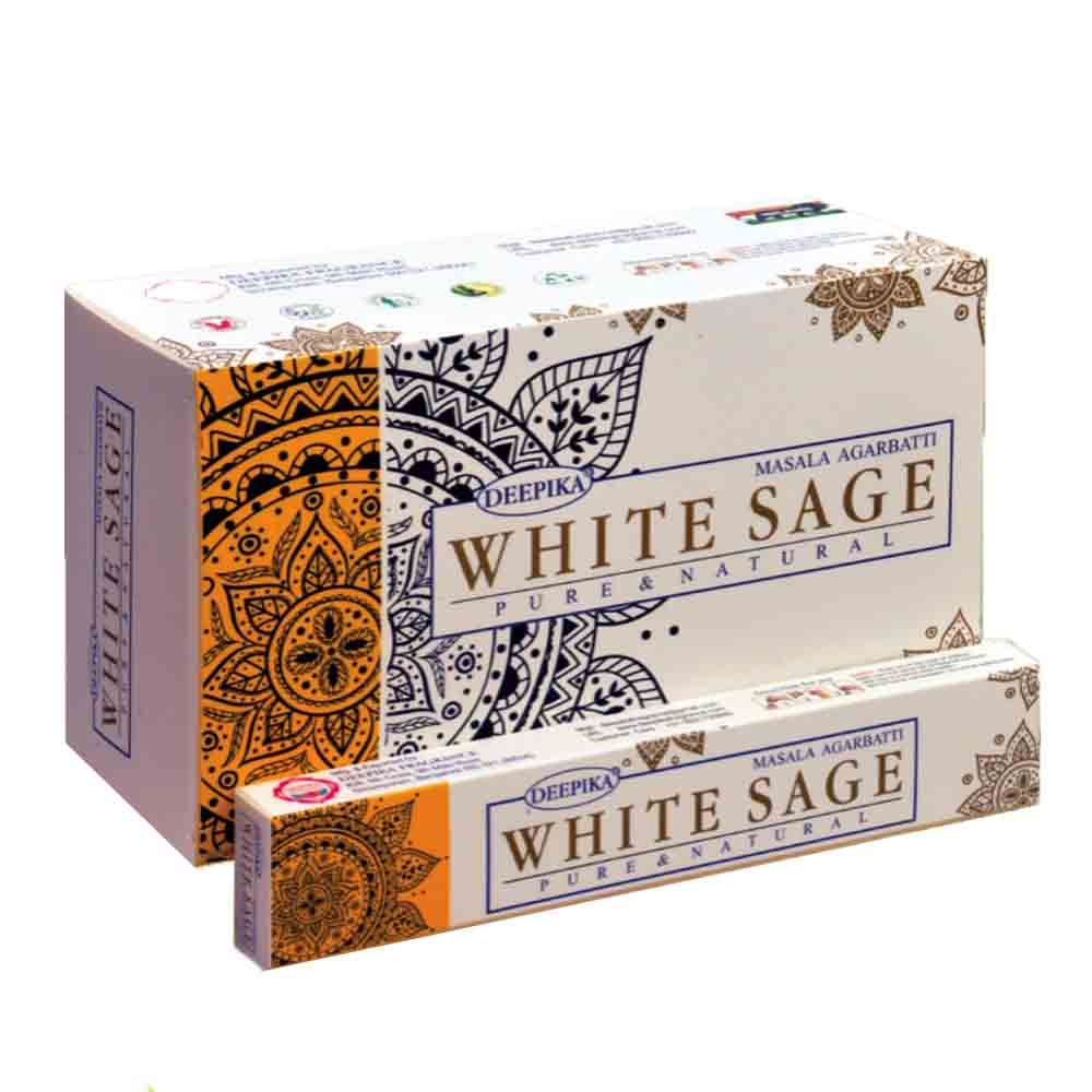 deepika white sage incense