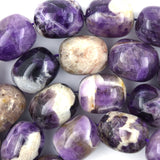 20mm natural amethyst nugget beads 16