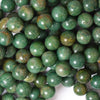 10mm green dragon blood jasper round beads 16