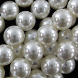 16mm white shell pearl round beads 16