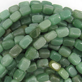 13mm green aventurine nugget beads 16