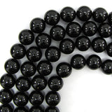 16mm black shell pearl round beads 16