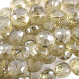 14mm faceted frost crystal coin beads 8