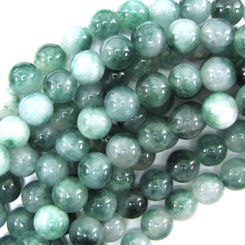 "3mm faceted green emerald jade rondelle beads 15"" strand S2"
