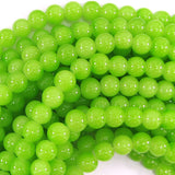 8mm glass round beads 14