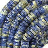 10mm blue sodalite heishi beads 16