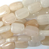 14mm peach aventurine rectangle beads 16